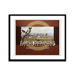 ABH Castle Mountains Framed Panel Print
