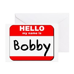 Hello my name is Bobby Greeting Cards (Pk of 10)