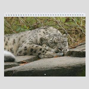 Snow Leopard M001 Wall Calendar