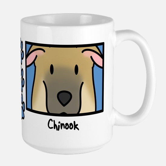 Anime Chinook Large Mug