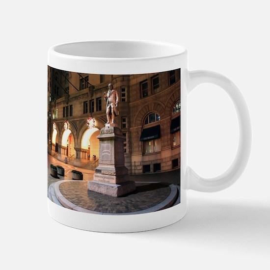 Benjamin Franklin Statue Mug
