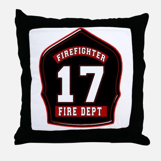 FD17 Throw Pillow