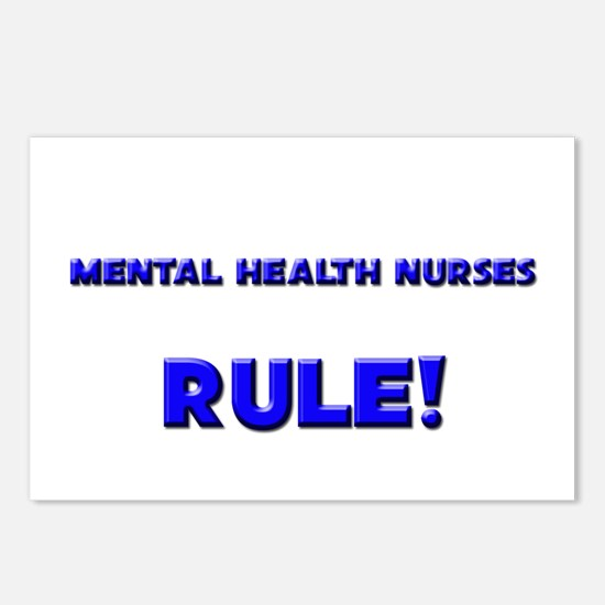 Mental Health Nurses Rule! Postcards (Package of 8
