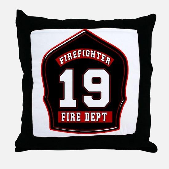 FD19 Throw Pillow