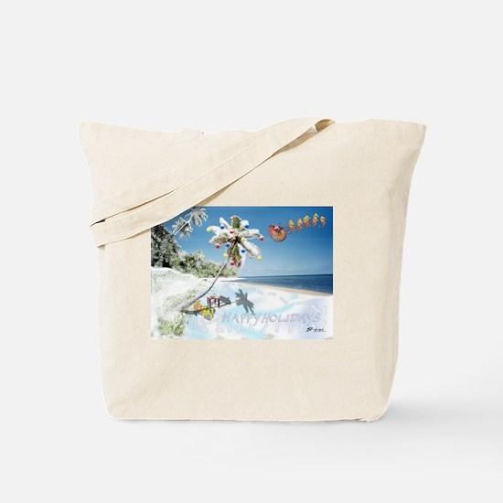 Tropical Snow Tote Bag