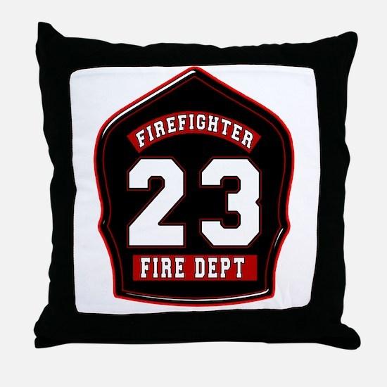 FD23 Throw Pillow