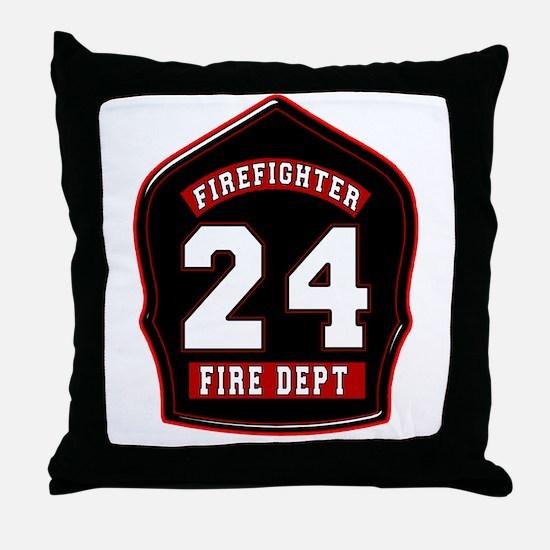 FD24 Throw Pillow