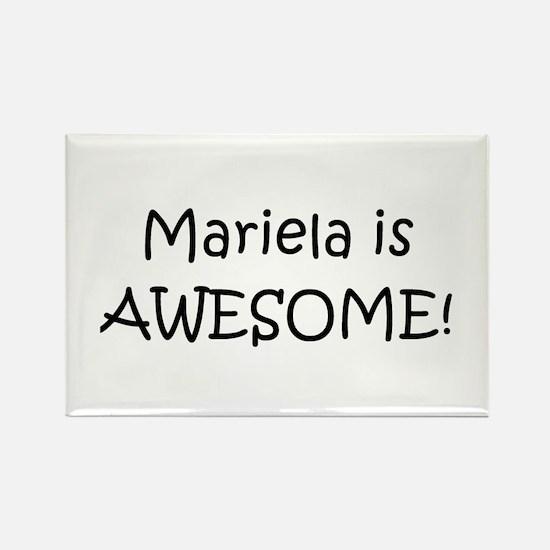 Unique Mariela Rectangle Magnet