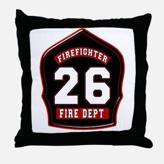 FD26 Throw Pillow