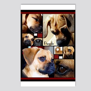 Puggle Parts Postcards (Package of 8)