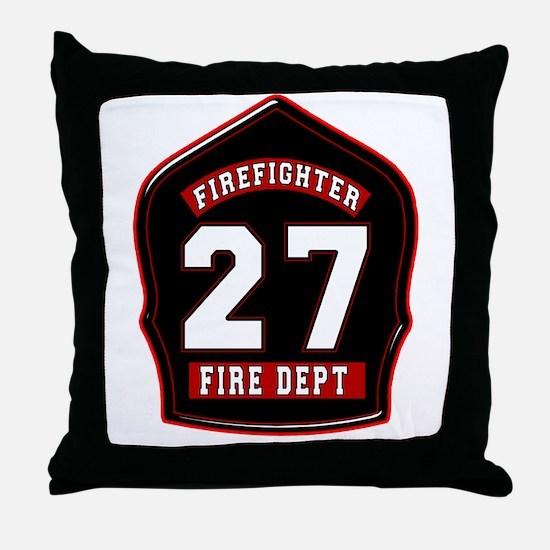 FD27 Throw Pillow