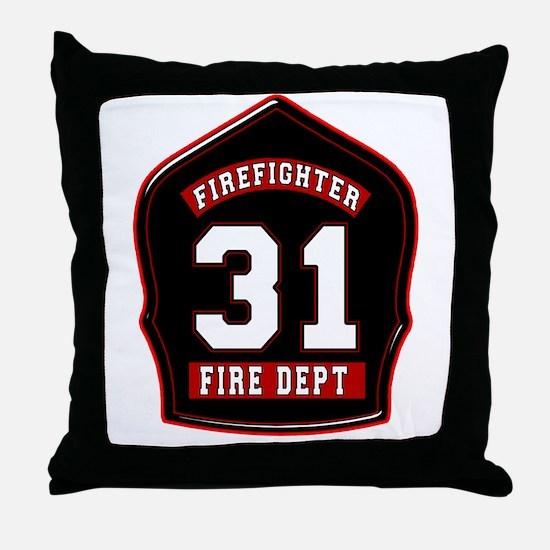 FD31 Throw Pillow