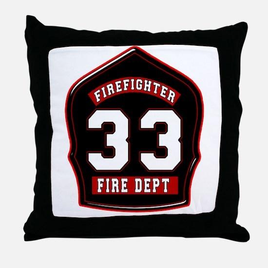 FD33 Throw Pillow