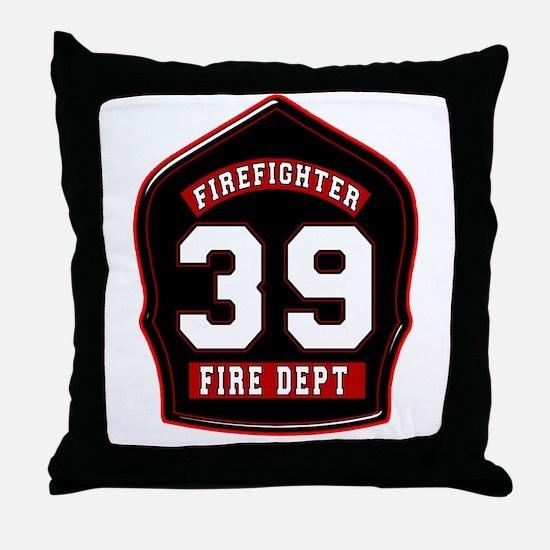 FD39 Throw Pillow