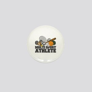 Multi-Sport Athlete Mini Button (10 pack)
