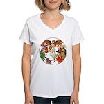 ALICE BY J W SMITH Women's V-Neck T-Shirt