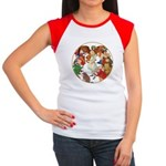 ALICE BY J W SMITH Women's Cap Sleeve T-Shirt