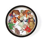 ALICE BY J W SMITH Wall Clock