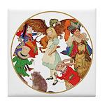 ALICE BY J W SMITH Tile Coaster