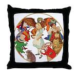 ALICE BY J W SMITH Throw Pillow