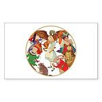 ALICE BY J W SMITH Rectangle Sticker 50 pk)