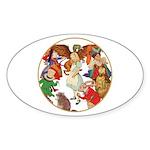ALICE BY J W SMITH Oval Sticker