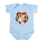 ALICE BY J W SMITH Infant Bodysuit