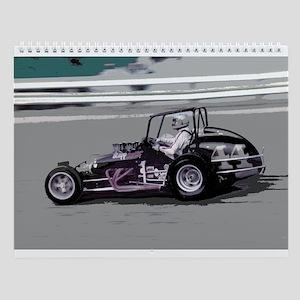 Wall Calendar/vintage sprintcars