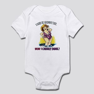 I used to skinny dip Infant Bodysuit