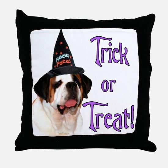 Saint Trick Throw Pillow