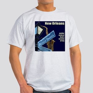 New Orleans - Another Victim  Ash Grey T-Shirt