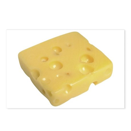 Some Swiss Cheese On Your Postcards (Package of 8)