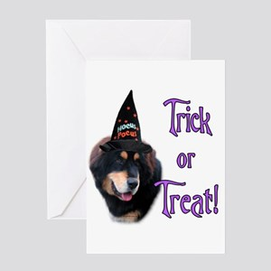 Tibetan Mastiff Trick Greeting Card