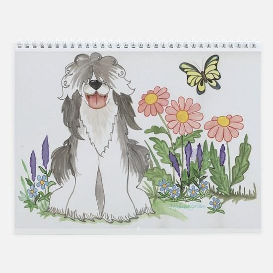 Funny Butterfly Wall Calendar