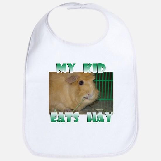 My Kid Eats Hay - Bib