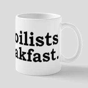 I eat foilists for light colo Mug
