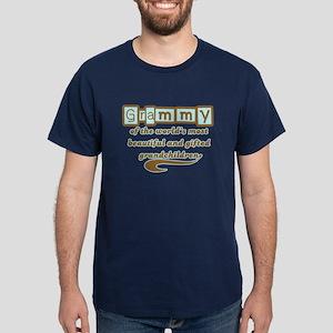 Grammy of Gifted Grandchildren Dark T-Shirt
