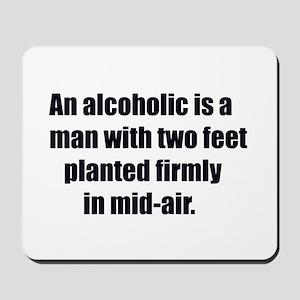 alcoholic Mousepad