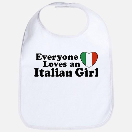 Everyone loves an italian girl Bib