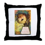 Romantic Halloween Throw Pillow
