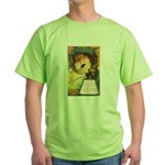 Romantic Halloween Green T-Shirt