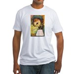 Romantic Halloween Fitted T-Shirt