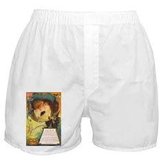 Romantic Halloween Boxer Shorts