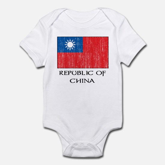 Republic of China Flag Infant Bodysuit
