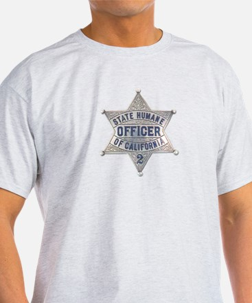 California Humane Officer T-Shirt