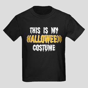 Halloween Costume Kids Dark T-Shirt