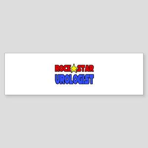 """""""Rock Star Urologist"""" Bumper Sticker"""