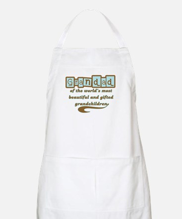 Grandad of Gifted Grandchildren BBQ Apron