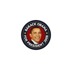 Barack Obama 2008 c Mini Button (10 pack)