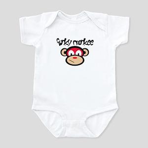 Funky Monkee Infant Bodysuit